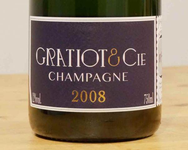 Champagne Almanach No 4 Millésime 2008 von GRATIOT & Cie