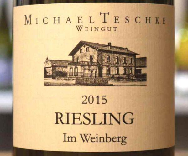"""Riesling """"Im Weinberg"""" von Weingut Michael Teschke"""