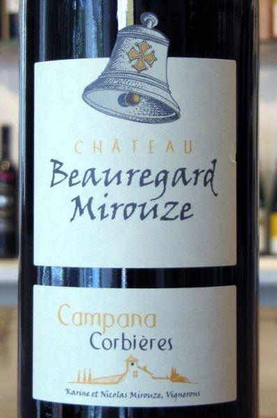 Campana Rouge 2016 von Château Beauregard-Mirouze