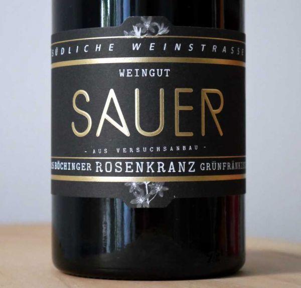 Grünfränkisch von Weingut Heiner Sauer