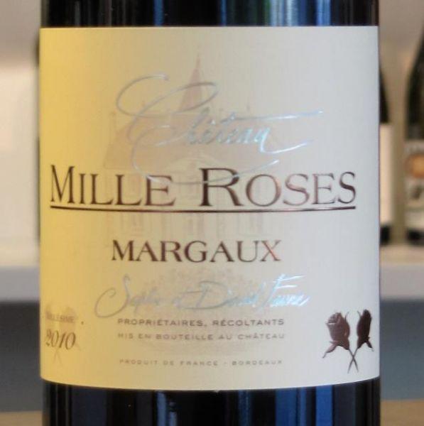 Château Mille Roses 2015 - Margaux AOP