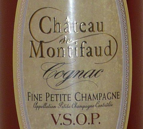 Cognac VSOP, Bouteille Ariane, 70 cl von Château de Montifaud