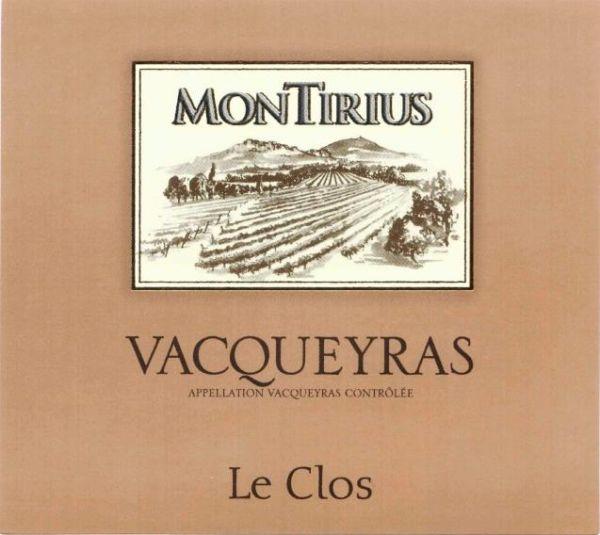 Vacqueyras Le Clos von Domaine Montirius