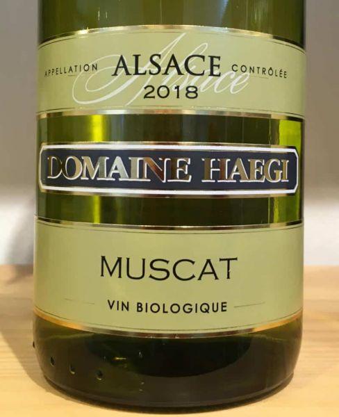 Muscat d'Alsace von Domaine Haegi