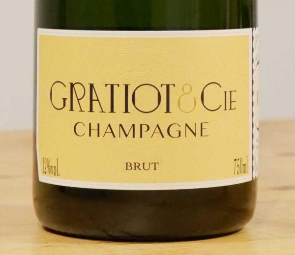 Champagne Almanach No 1 Brut von GRATIOT & Cie