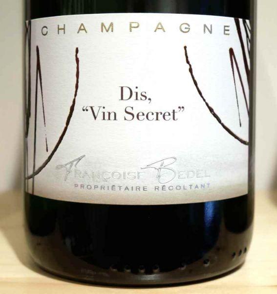 "Champagne Dis ""Vin Secret"" extra brut von Françoise Bedel"