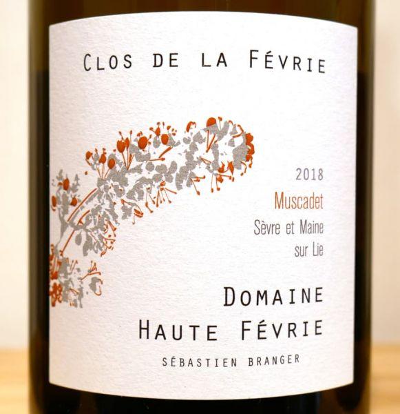 """""""Clos de la Févrie"""" Muscadet Sèvre et Maine sur Lie von Domaine Haute Févrie"""