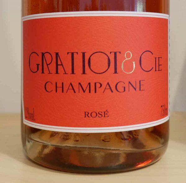 Champagne Almanach No 3 Brut Rosé von Champagne GRATIOT & Cie