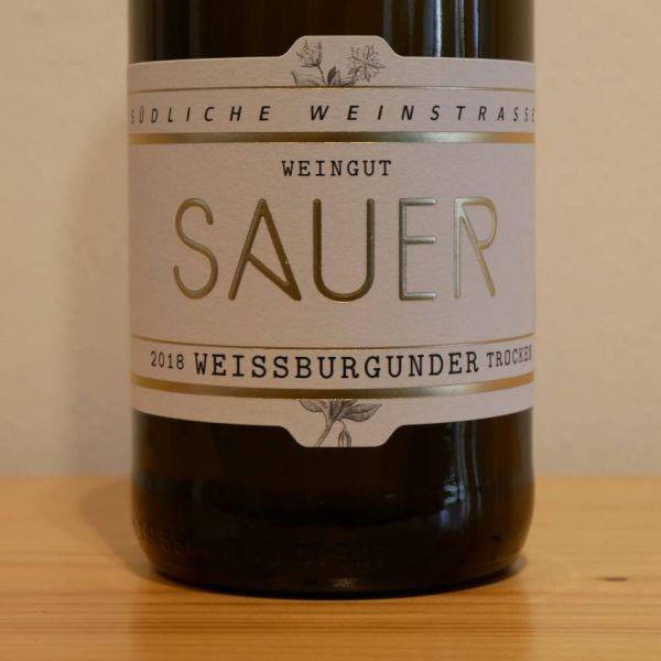 Weissburgunder von Weingut Familie Sauer