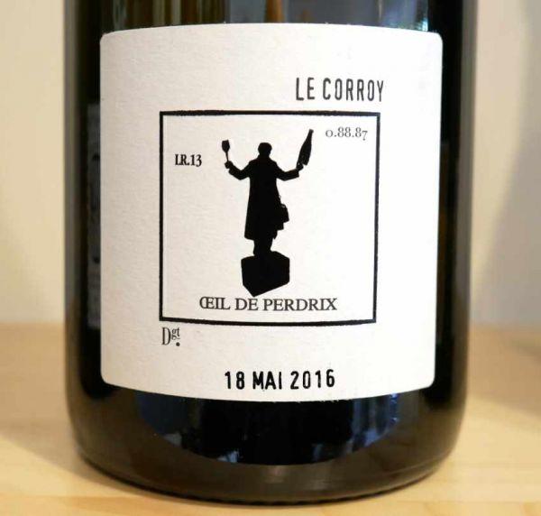 """Champagne OEil de Perdrix """"Le Corroy"""" Brut Nature von Charles Dufour"""