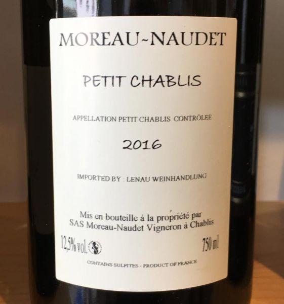 Petit Chablis 2016 von Domaine Moreau-Naudet