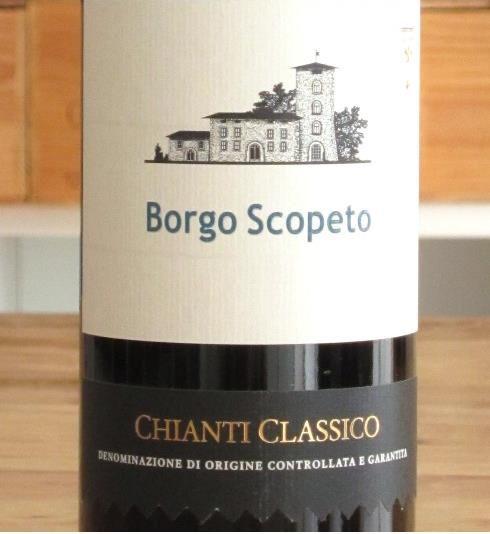 Chianti Classico von Borgo Scopeto
