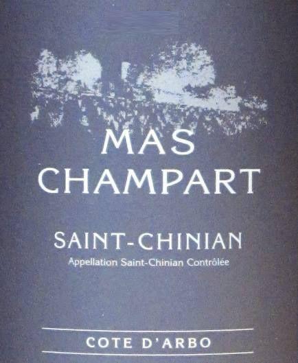 Côte d'Arbo von Mas Champart