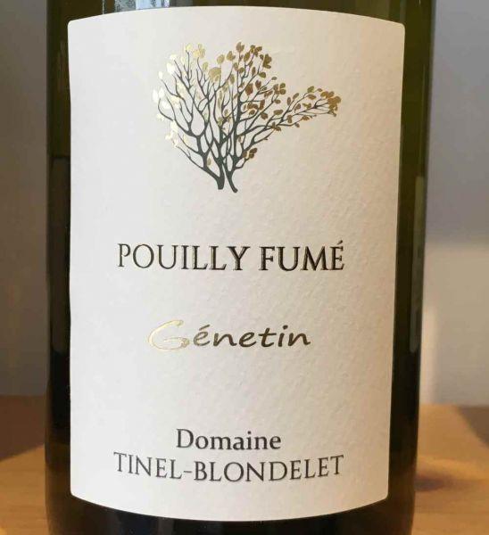 GÉNETIN Pouilly Fumé von Domaine Tinel-Blondelet